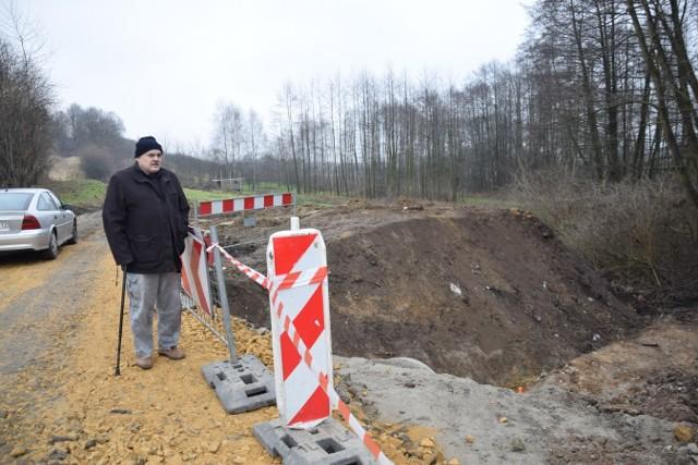 Budowa obwodnicy Rybnej rozpoczęła się jesienią ubiegłego roku, a niedługo potem pojawiły się kłopoty