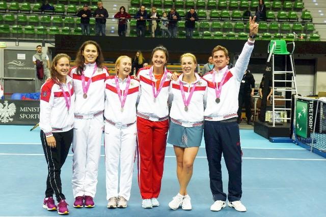 Rosjanki wygrały w Zielonej Górze turniej Pucharu Federacji. Reprezentacja Polski zajęła trzecie miejsce.