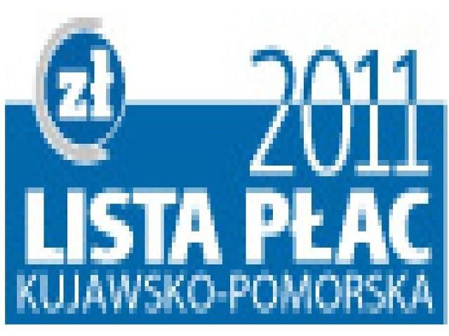 Kujawsko-Pomorska Lista Płac 2011. Dziś prezentujemy dochody naszych emerytów