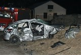 Rosjanin walczy o życie po wypadku w Konstantynowie (zdjęcia z wypadku)