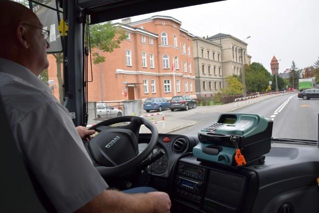 Autobus miejski w Kluczborku