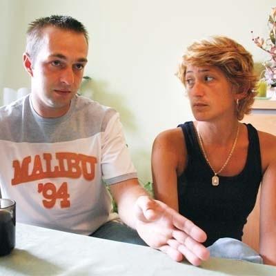- Takie zachowanie lekarzy to skandal - mówą Marta i Grzegorz Sokołowscy