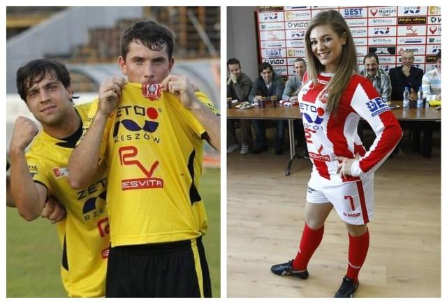 Jak wyglądały koszulki piłkarzy Resovii w ostatnich kilkunastu latach? Niektóre były tradycyjne - pasiaste - ale zdarzały się też zielone, żółte i czarne trykoty. Sprawdźcie koszulki Resovii w GALERII!