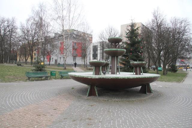 Przebudowa skweru przy ulicy Sandomierskiej i Źródłowej,  nie zacznie się w tym roku.