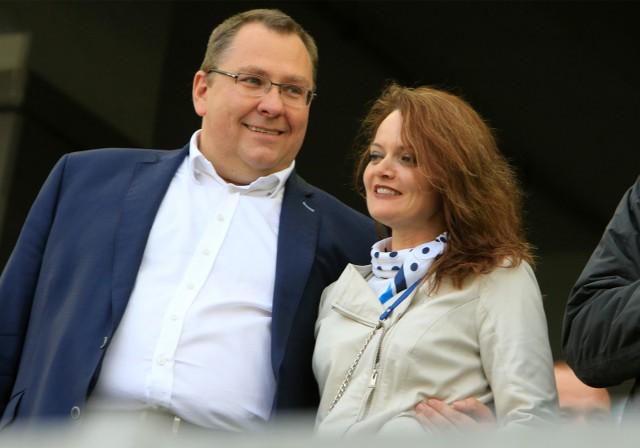 Właściciel Przemysław Termiński i prezes Ilona Termińska zapowiadają budowę mocniejszej drużyny