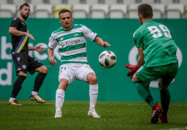 Sławomir Peszko, piłkarz Lechii Gdańsk
