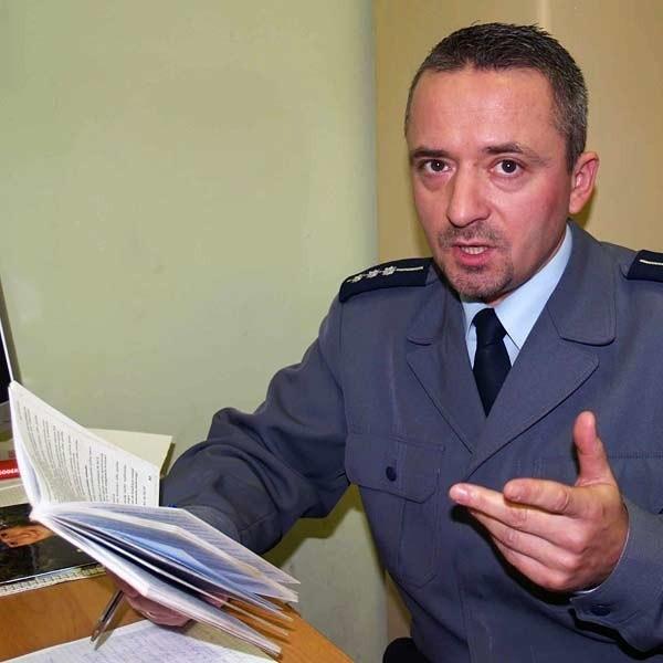 St. aspirant Wiesław Kluk, rzecznik prasowy KPP Mielec, zapowiada, że policjanci wezmą na celownik deptak przy ogródkach działkowych
