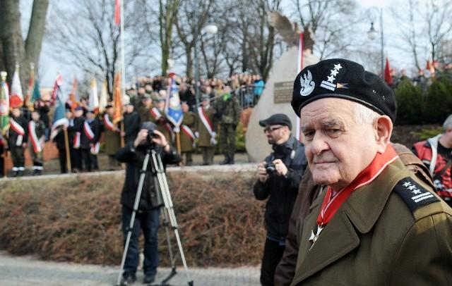 W piątkowej uroczystości wziął udział m.in. Jan Kudła, Żołnierz Wyklęty.