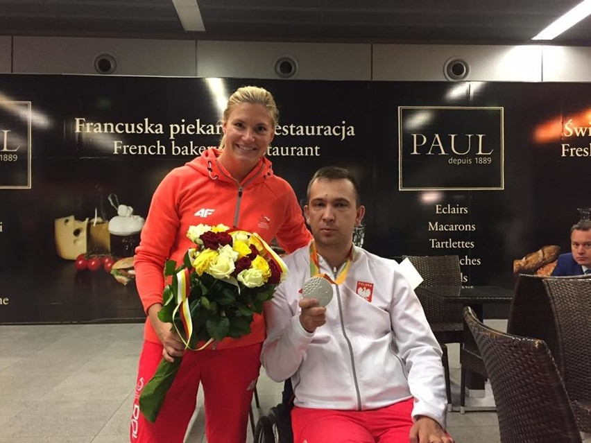 Joanna Mendak i Rafał Czuper wrócili już z Rio de Janeiro gdzie rozgrywane były Igrzyska Paraolimpijskie