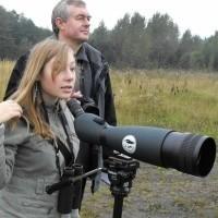 Organizatorzy akcji: Sławomir Michoń i jego córka Hanna Michoń.