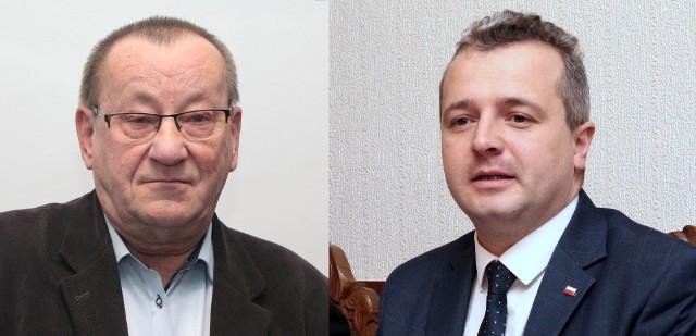 Radny PiS Andrzej Wiśniewski zaczepiał wojewodę. I dostał burę od wojewody Mikołaja Bogdanowicza