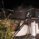Tragiczny pożar domu w Mrzygłodzie koło Sanoka. Nie żyje 55-latek [WIDEO]