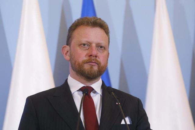 Minister zdrowia Łukasz Szumowski: Spodziewamy się w najbliższych dniach większych przyrostów zachorowań