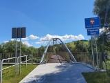 Z Muszyny na Słowację trasą rowerową  EuroVelo11. Kładki rowerowe w końcu otwarte [ZDJĘCIA]