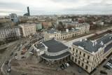Dworzec Świebodzki: naga przerwa w centrum miasta