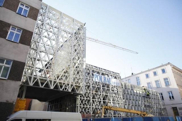 Opolski Teatr Lalki i Aktora jest obecnie przebudowywany.