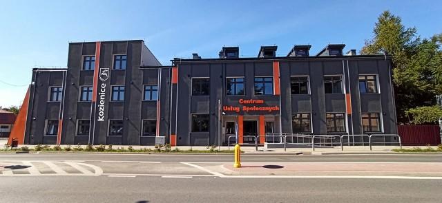 Centrum Usług Społecznych zostało otwarte w Kozienicach w poniedziałek.
