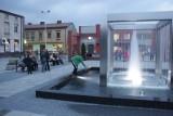 Nowe centrum Łaz: Fontanna w sześcianie, odnowiony dworzec [ZOBACZ]
