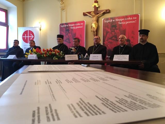Biskupi proszą o pomoc w odbudowie szpitala w Aleppo.