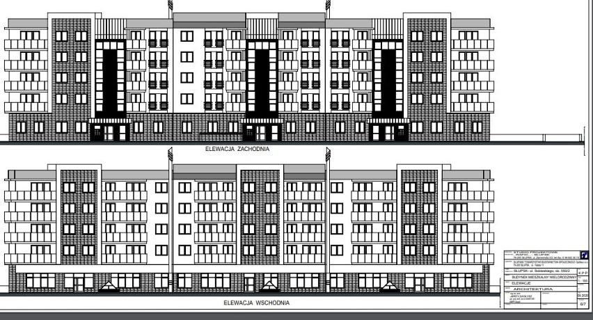 Wieżowiec dewelopera i przychodnia w bloku STBS. Inwestycje mieszkaniowe na Zatorzu