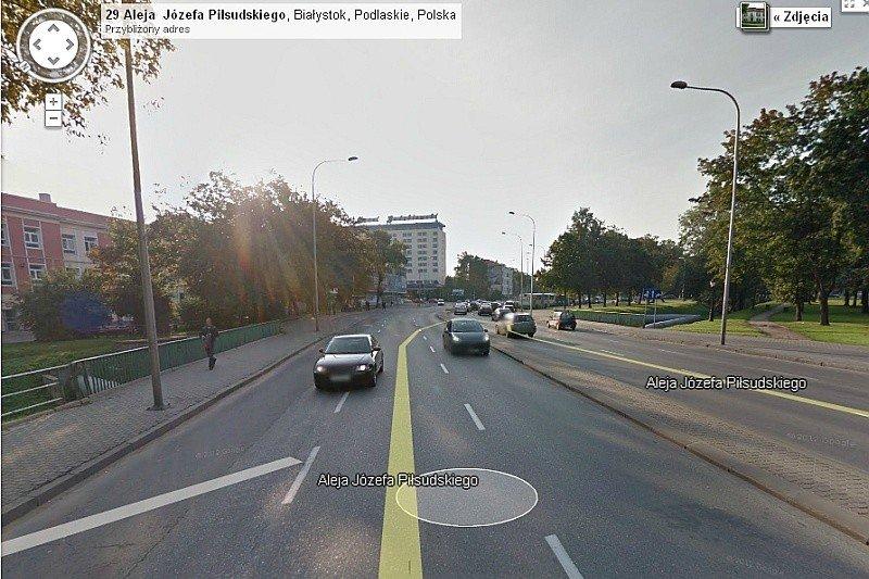 Bialystok Google Street View Gazeta Wspolczesna
