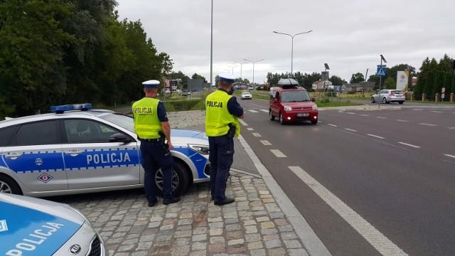 Policjanci z Koszalina przeprowadzili akcję na DK nr 11