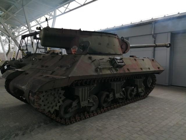 M36 zaliczył próbę sprawności - już może jeździć!