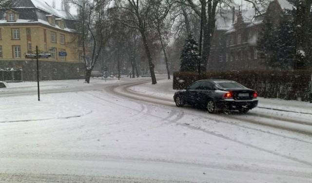 Ulica Rzemieślnicza w Szczecinku.