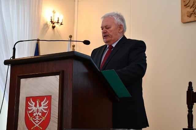 Powiatowy inspektor sanitarny w Mechowie Florian Kącki