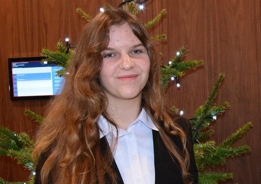 Wanda Klat ma 13 lat, uczy się w Gimnazjum nr 13 w Zespole Szkół nr 13 w Gorzowie.