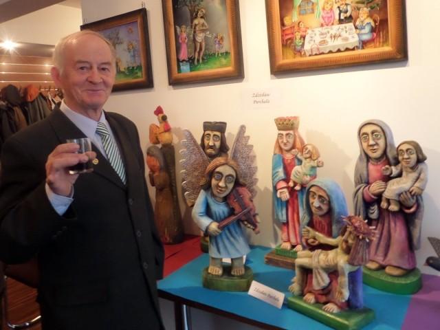 Zdzisław Purchała z Kossowa został laureatem 44. Konkursu Współczesnej Ludowej Sztuki Religijnej w Kielcach.