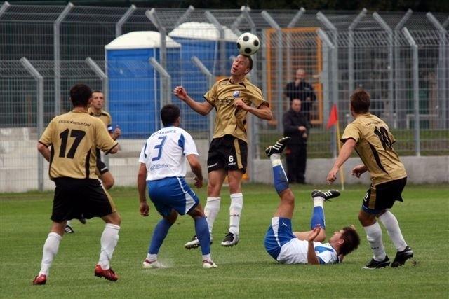 II liga: MKS Kluczbork przegral 0-1 z Kotwicą Kolobrzeg.