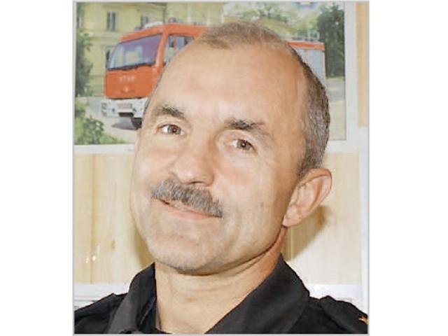 , starszy kapitan, Państwowa Straż Pożarna  w Aleksandrowie Kujawskim