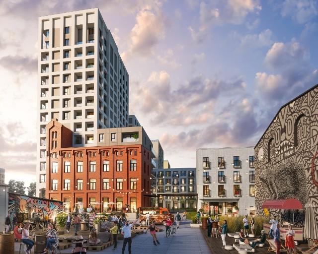 Inwestycja mieszkaniowa ma być uzupełnieniem nastawionej na gastronomię, handel i rozrywkę Strefy Piotrkowska 217.