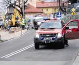 Z powodu zagrożenia wybuchem gazu, trzeba było zablokować ruch
