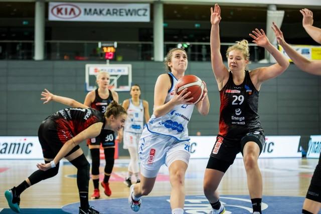 W derbach w tym sezonie dwa razy wygrały koszykarki Basketu 25 Bydgoszcz