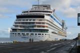 Sezon wycieczkowców w Gdyni zakończony. Ostatni statek pasażerski, włoski AIDAmar, opuścił port w poniedziałek 7.10.2019 r. [zdjęcia]