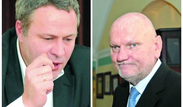 Rafał Bruski, prezydent Bydgoszczy oraz Michał Zaleski, prezydent Torunia