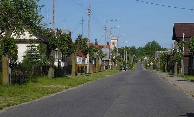 Ulica Waszkiewicza w Białowieży