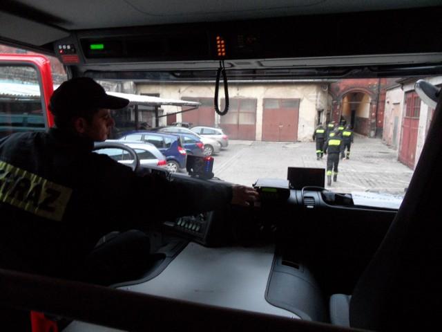 Pożar w Bytomiu wybuchł przy ul. Świętochłowickiej. Meżczyzny nie udało się uratować