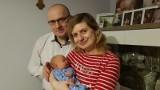 Marcin Wycisło, wójt Jemielnicy osobiście zaangażował się w poprawę demografii - właśnie został tatą