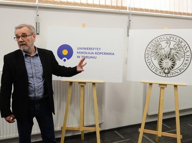 Tak teraz będzie wyglądać logo uniwersytetu.