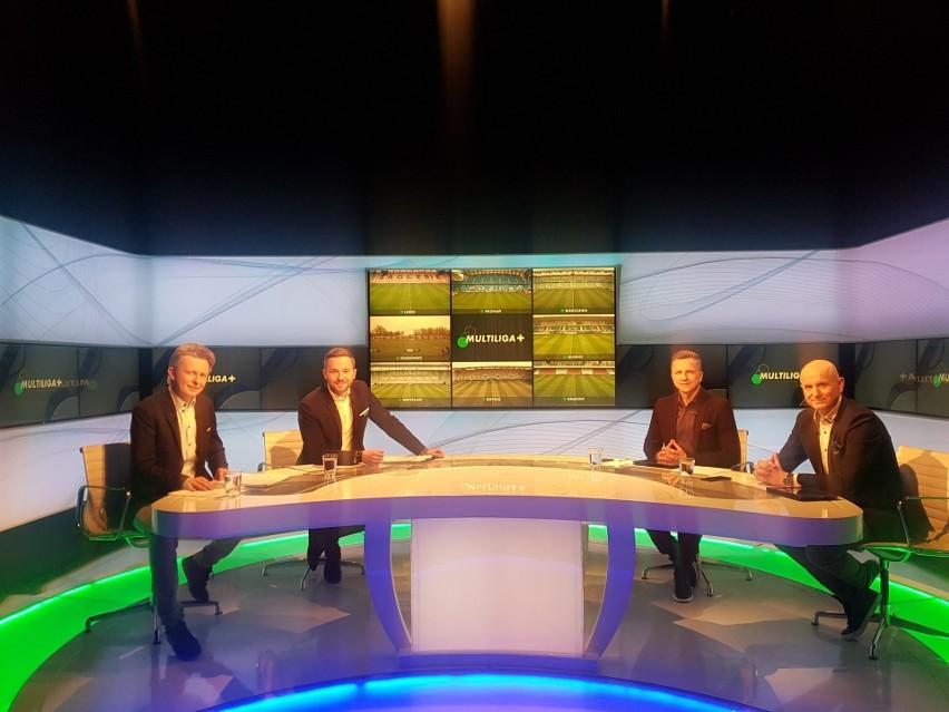 Studio Canal+ Sport podczas Multiligi w zeszłym roku