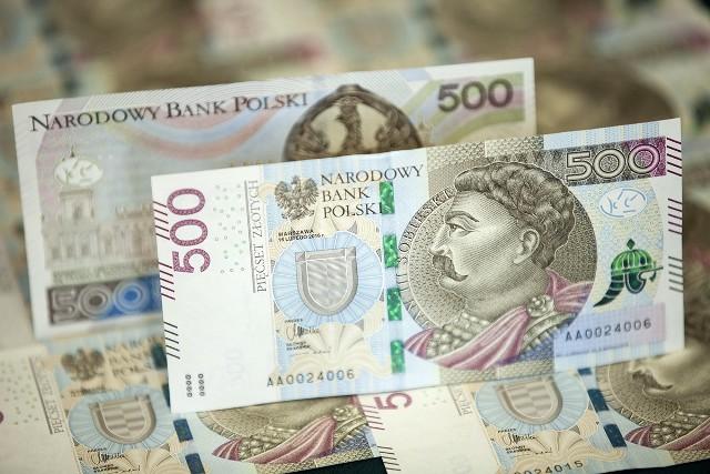 Banknot o największym nominale w Polsce to obecnie 500 zł NBP
