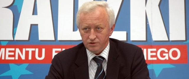 Bogusław Liberadzaki, który w czerwcowych wyborach po raz drugi zdobył mandat europosła.