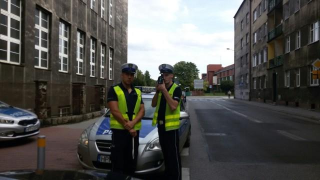 Akcja drogówki w Strefie Tempo 30 w Katowicach