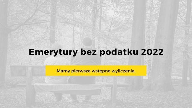 W ramach Polskiego Ładu zmieniony ma zostać system podatkowy. Nowa kwota wolna od podatku wynosić ma 30 tysięcy złotych. Oznacza to, ze 65% emerytów i osoby z najniższą płacą zwolnione będą od podatku.Podatek z emerytury ma nie być pobierany do progu 2500 złotych brutto. Dla seniorów z niższymi emeryturami oznacza to więcej pieniędzy w kieszeni. Tylko ci z najwyższymi emeryturami mogą stracić, ale to zdecydowana mniejszość. Zobacz wyliczenia poszczególnych emerytur na kolejnych slajdach naszej galerii.