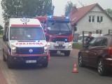 Wypadek na rogatkach wsi Św. Wojciech. Wyglądało groźnie. Ucierpiał jeden z kierowców. Wielki szacunek wzbudziła postawa sprawczyni kraksy