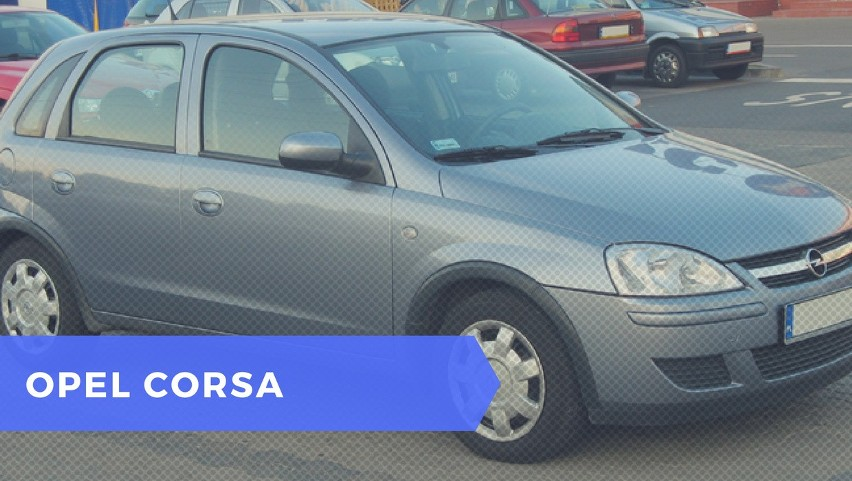 #4 Opel Corsa B (1993 – 2000) i C (2000 – 2006)...