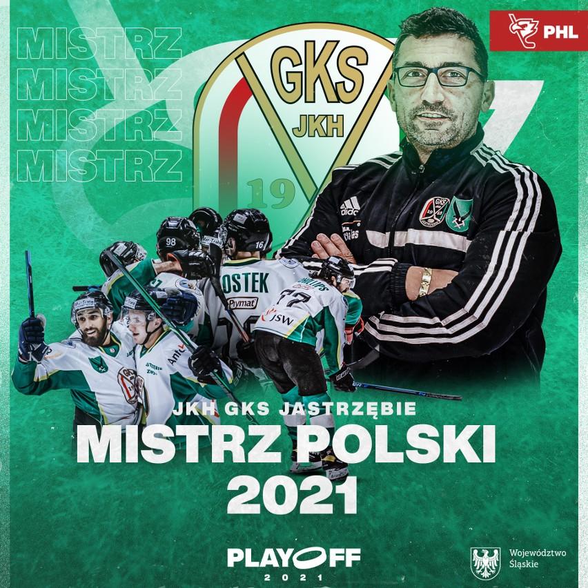 JKH GKS Jastrzębie mistrzem Polski! Rozstrzygnięcie w Polskiej Hokej Lidze